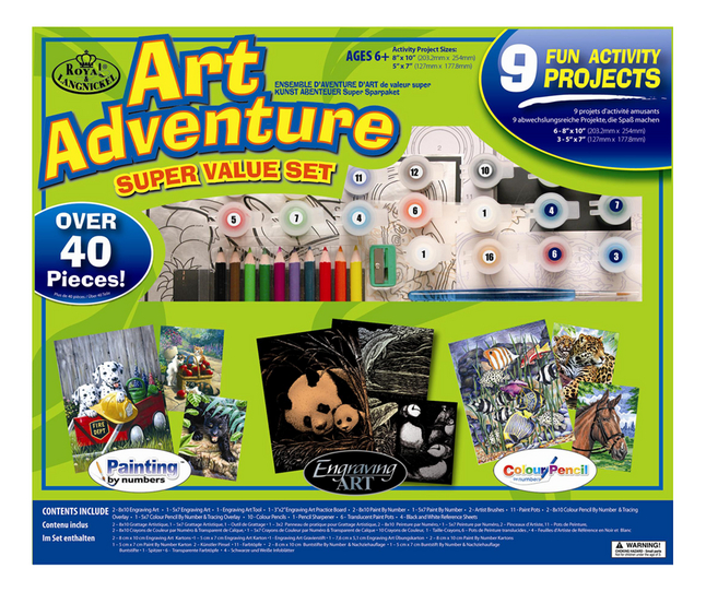 Image pour Royal & Langnickel Art Adventure Super Value Set 9 activités à partir de ColliShop
