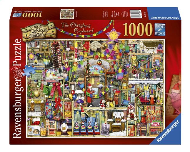 Image pour Ravensburger puzzle The Christmas Cupboard à partir de ColliShop