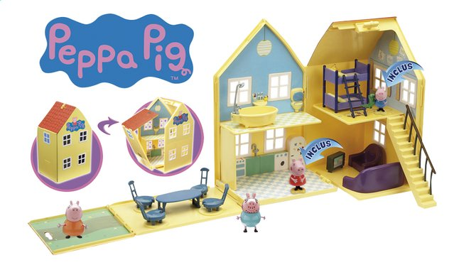 Image pour Set de jeu Peppa Pig Maison deluxe à partir de ColliShop