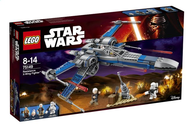 Afbeelding van LEGO Star Wars 75149 Resistance X-Wing Fighter from ColliShop