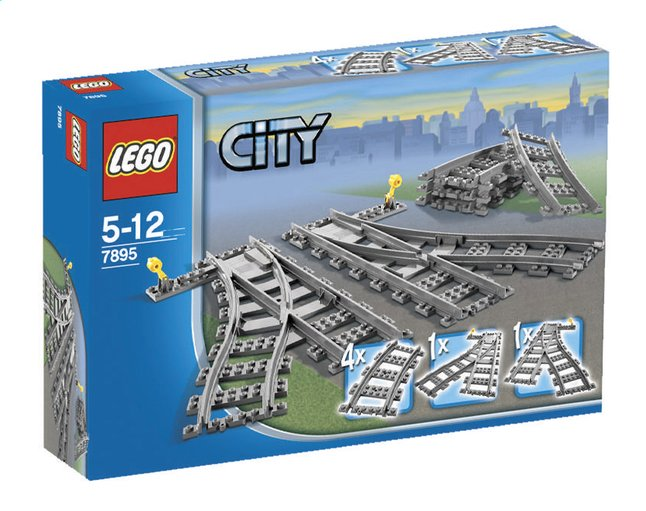 Image pour LEGO City 7895 Les aiguillages à partir de ColliShop