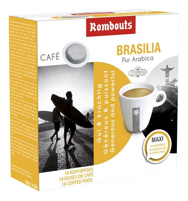 Rombouts Dosettes de café Brasilia - 10 boîtes