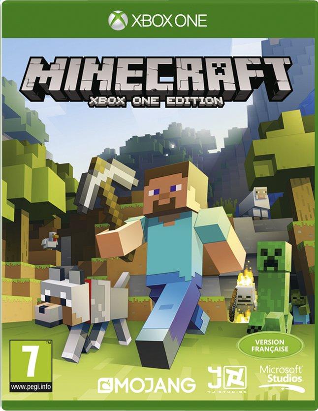 Image pour XBOX One Minecraft FR à partir de ColliShop