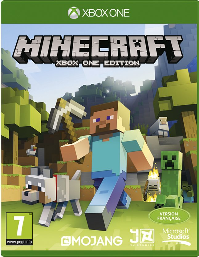 Afbeelding van XBOX One Minecraft FR from ColliShop