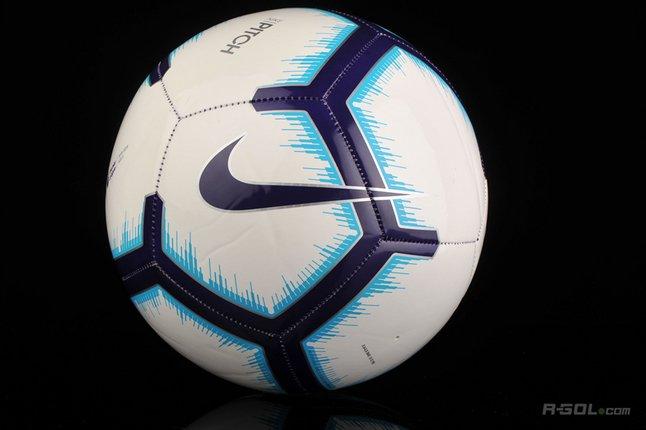 Image pour Nike ballon de football Premier League Pitch bleu/blanc taille 5 à partir de ColliShop