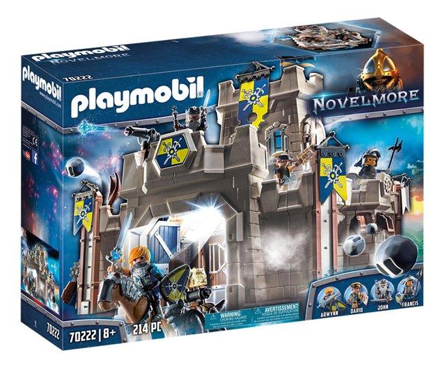 PLAYMOBIL Novelmore 70222 Le château des Chevaliers du Loup