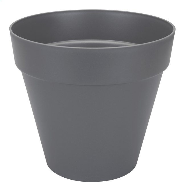 Image pour Elho pot Loft Urban round anthracite diamètre 40 cm à partir de ColliShop
