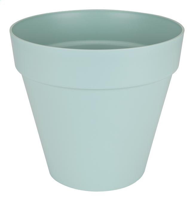 Image pour Elho pot Loft Urban round bleu diamètre 40 cm à partir de ColliShop