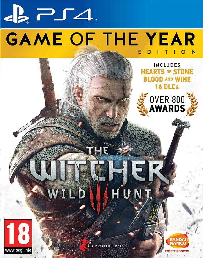 Afbeelding van PS4 The Witcher 3 Wild Hunt Game of the Year Edition ENG from ColliShop