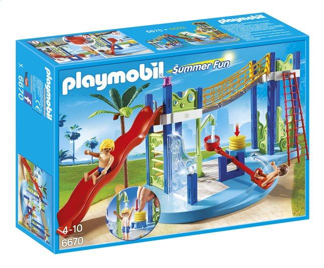 Image pour Playmobil Summer Fun 6670 Aire de jeux aquatique à partir de ColliShop