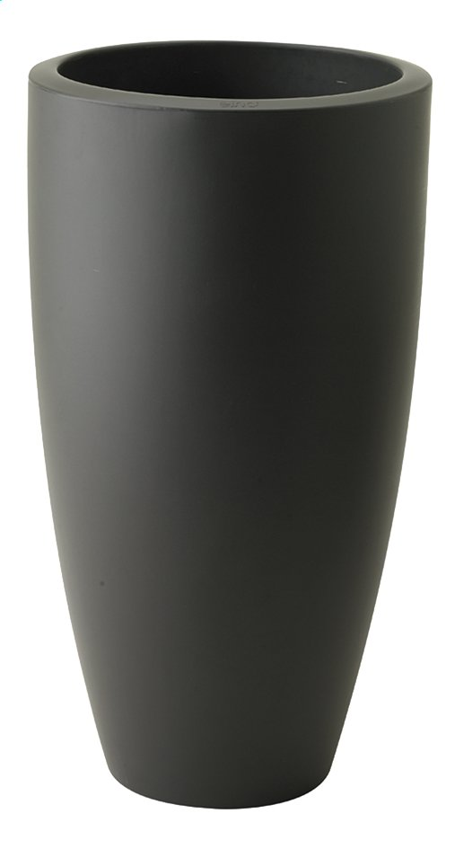 Image pour Elho pot Pure Soft round high anthracite diamètre 30 cm à partir de ColliShop