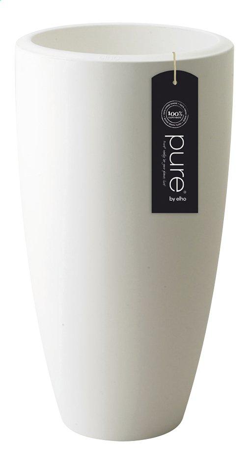 Image pour Elho pot Pure Soft round high white diamètre 30 cm à partir de ColliShop