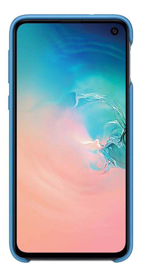 Samsung cover van silicone voor Samsung Galaxy S10e blauw