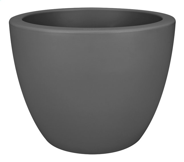 Image pour Elho pot Pure Soft round anthracite diamètre 40 cm à partir de ColliShop