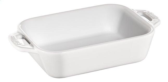 Image pour Staub Plat à gratin Ceramic blanc 11 x 14 cm à partir de ColliShop