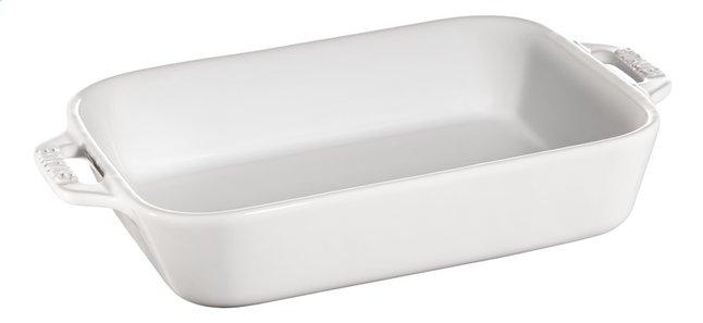 Image pour Staub Plat à gratin Ceramic blanc 16 x 20 cm à partir de ColliShop