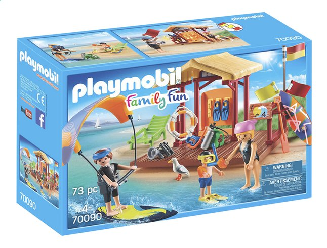 Afbeelding van PLAYMOBIL Family Fun 70090 Watersportschool from ColliShop