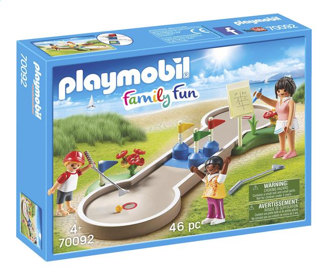 Image pour PLAYMOBIL Family Fun 70092 Mini-golf à partir de ColliShop