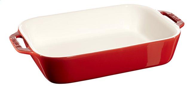 Image pour Staub Plat à gratin Ceramic rouge cerise 20 x 27 cm à partir de ColliShop