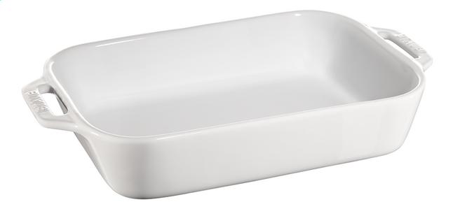 Image pour Staub Plat à gratin Ceramic blanc 20 x 27 cm à partir de ColliShop