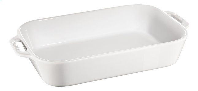 Afbeelding van Staub Gratineerschaal Ceramic wit from ColliShop