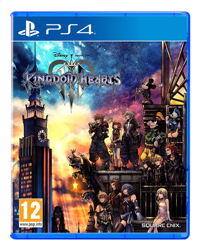 Image pour PS4 Kingdom Hearts III FR/NL à partir de ColliShop