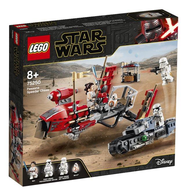 Image pour LEGO Star Wars 75250 La course-poursuite en speeder sur Pasaana à partir de ColliShop