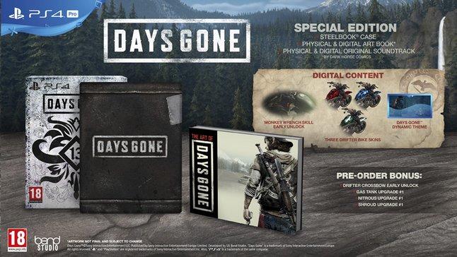 Image pour PS4 Days Gone Special Edition FR/ANG à partir de ColliShop