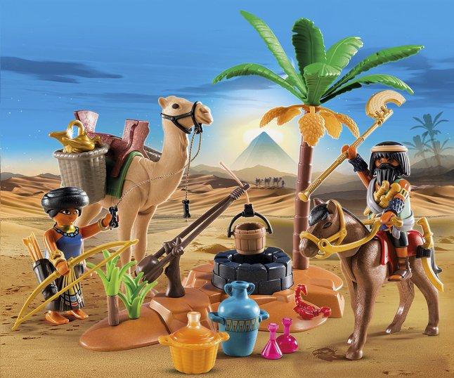 Afbeelding van Playmobil History 5387 Grafrovers met Egyptische schatten from ColliShop