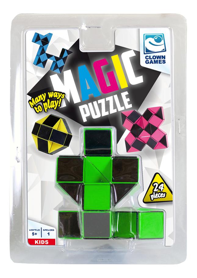 Magic Puzzle 24 stukjes groen