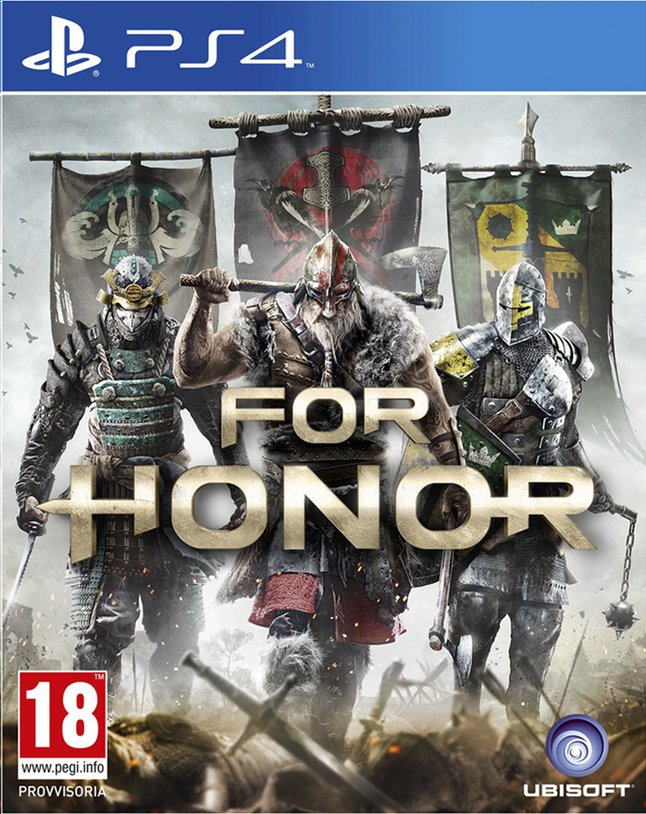 Afbeelding van PS4 For Honor ENG/FR from ColliShop