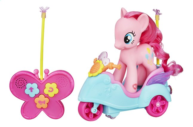 Afbeelding van My Little Pony Cutie mark magic speelset Pinkie Pie's Scooter from ColliShop
