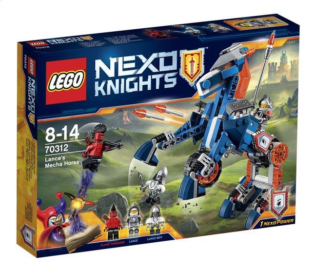 Image pour LEGO Nexo Knights 70312 Le méca-cheval de Lance à partir de ColliShop