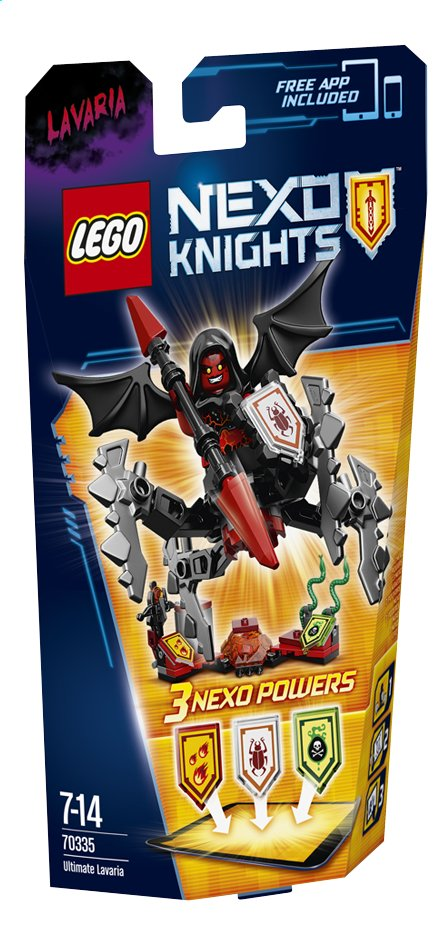 Afbeelding van LEGO Nexo Knights 70335 Ultimate Lavaria from ColliShop