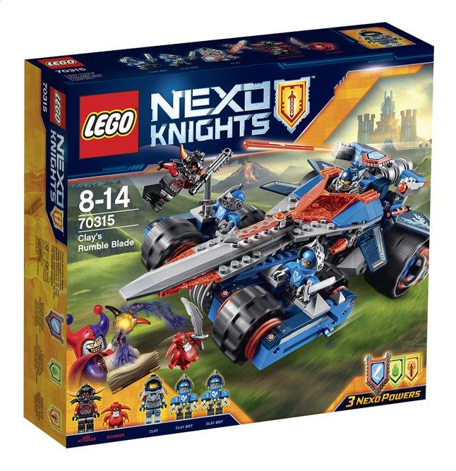 Image pour LEGO Nexo Knights 70315 L'épée rugissante de Clay à partir de ColliShop
