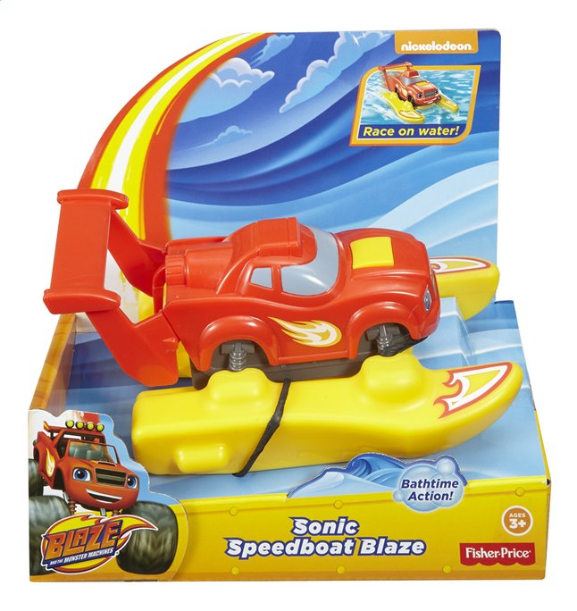 Afbeelding van Fisher-Price Blaze en de Monsterwielen Sonic Speedboat Blaze from ColliShop