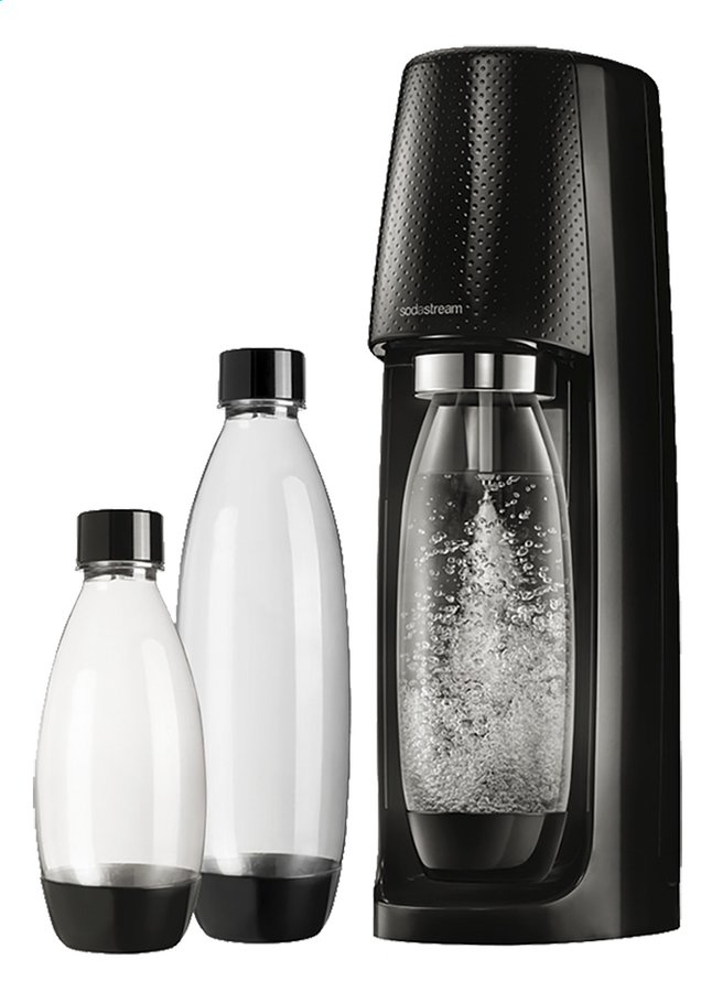 Image pour SodaStream Machine à soda Spirit Black Mega Pack noir à partir de ColliShop