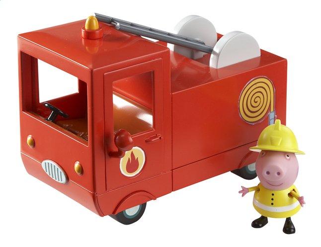 Image pour Peppa Pig camion de pompier avec 1 figurine à partir de ColliShop