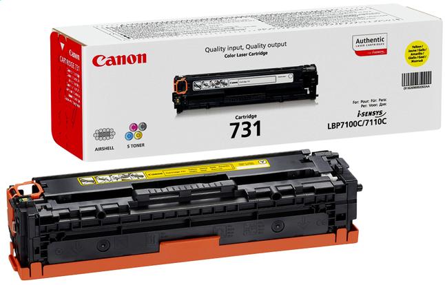 Image pour Canon toner 731 jaune à partir de ColliShop