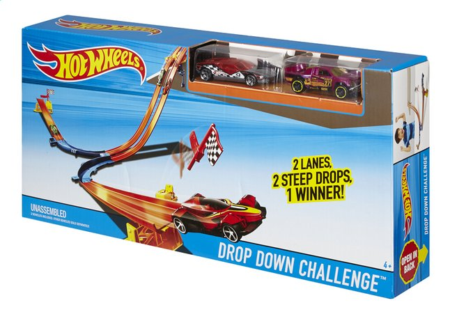 Image pour Hot Wheels circuit Drop Down Challenge à partir de ColliShop