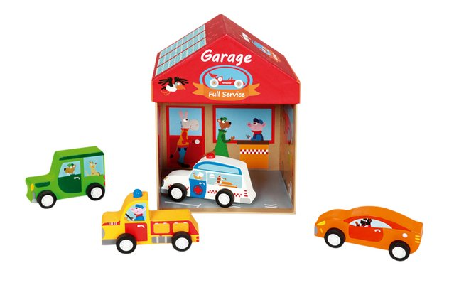 Scratch Europe speeldoos 2-in-1 garage