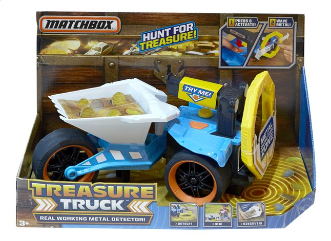 Afbeelding van Matchbox Treasure Truck from ColliShop