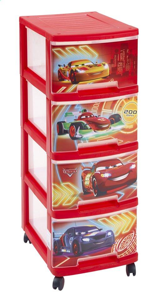 Afbeelding van Curver ladekast met 4 laden Disney Cars from ColliShop