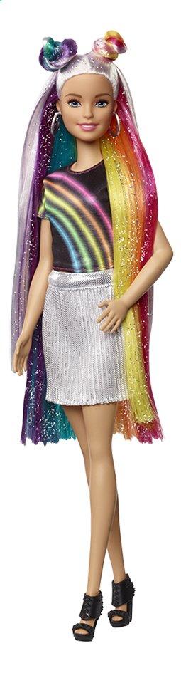 Image pour Barbie poupée mannequin  Cheveux arc-en-ciel pailleté à partir de ColliShop