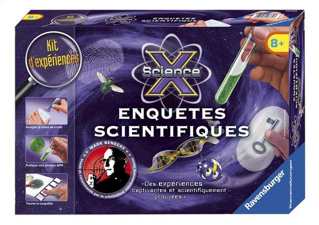 Afbeelding van Ravensburger Science X : Enquêtes scientifiques FR from ColliShop