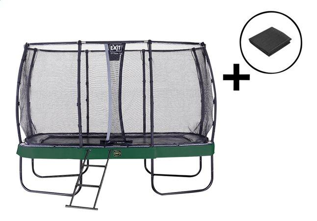 Image pour EXIT ensemble trampoline Elegant Premium Deluxe All-in-1 L 4,27 x Lg 2,44 m vert à partir de ColliShop