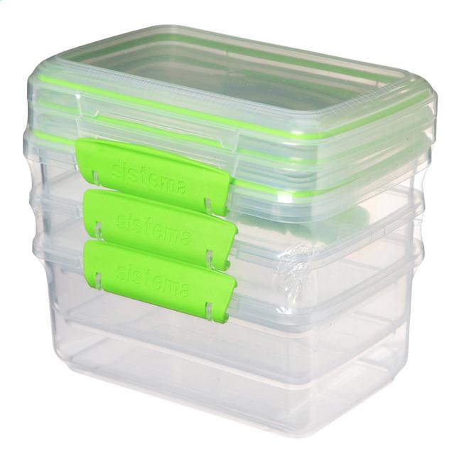 Image pour Sistema Boîte de conservation Fresh Rectangle 1 l - 3 pièces à partir de ColliShop