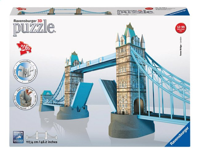 Image pour Ravensburger puzzle 3D Tower Bridge à partir de ColliShop