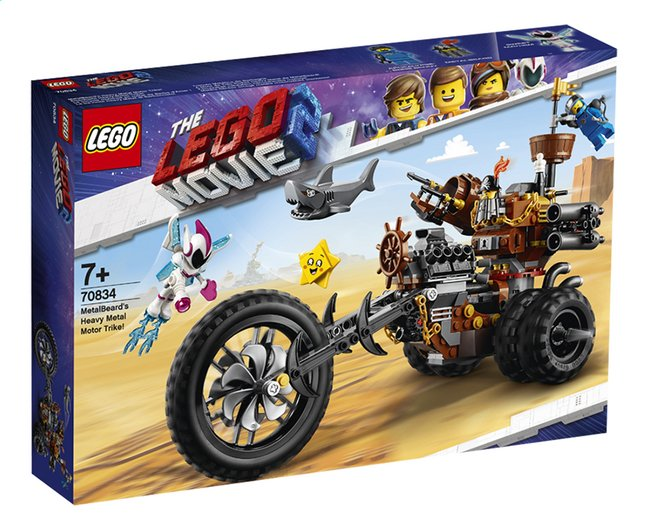 Afbeelding van LEGO The Movie 2 70834 Metaalbaards heavy metal trike! from ColliShop