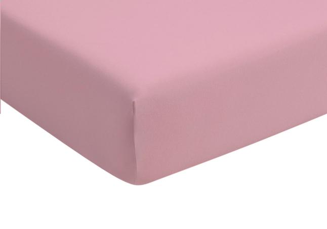 Image pour Romanette Drap-housse rose jersey double à partir de ColliShop